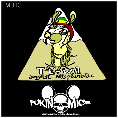 [FM013] TE WA- JUNGLE ANTIPLANISTIC EP!!!OUT NOW!!!